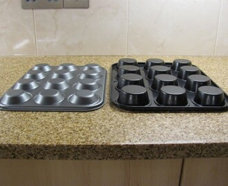 The difference between muffin/cupcake and fairy cake tins