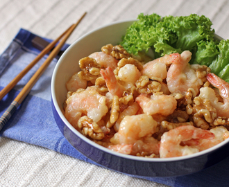 Honey Walnut Prawns
