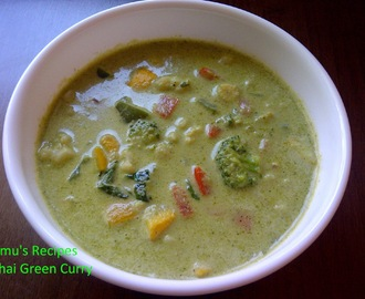 Veg. Thai Green Curry
