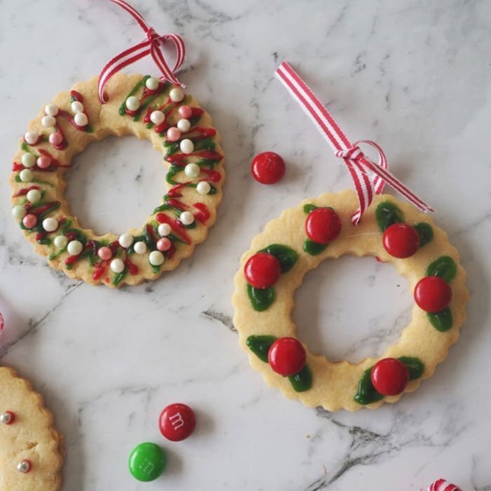 Thermomix Christmas Wreath Biscuits