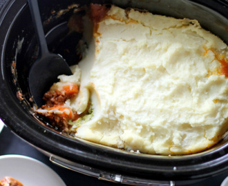 Step Into The Stockyard Of Slow Cooker Shepherd's Pie