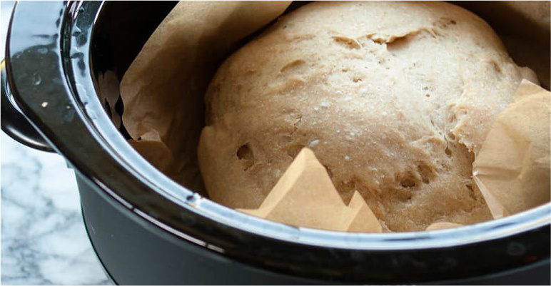 Shiver Me Timbers! You Can Bake Bread In The Crock Pot?!