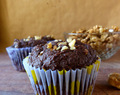 Chocolate Cinnamon & Walnut Muffins