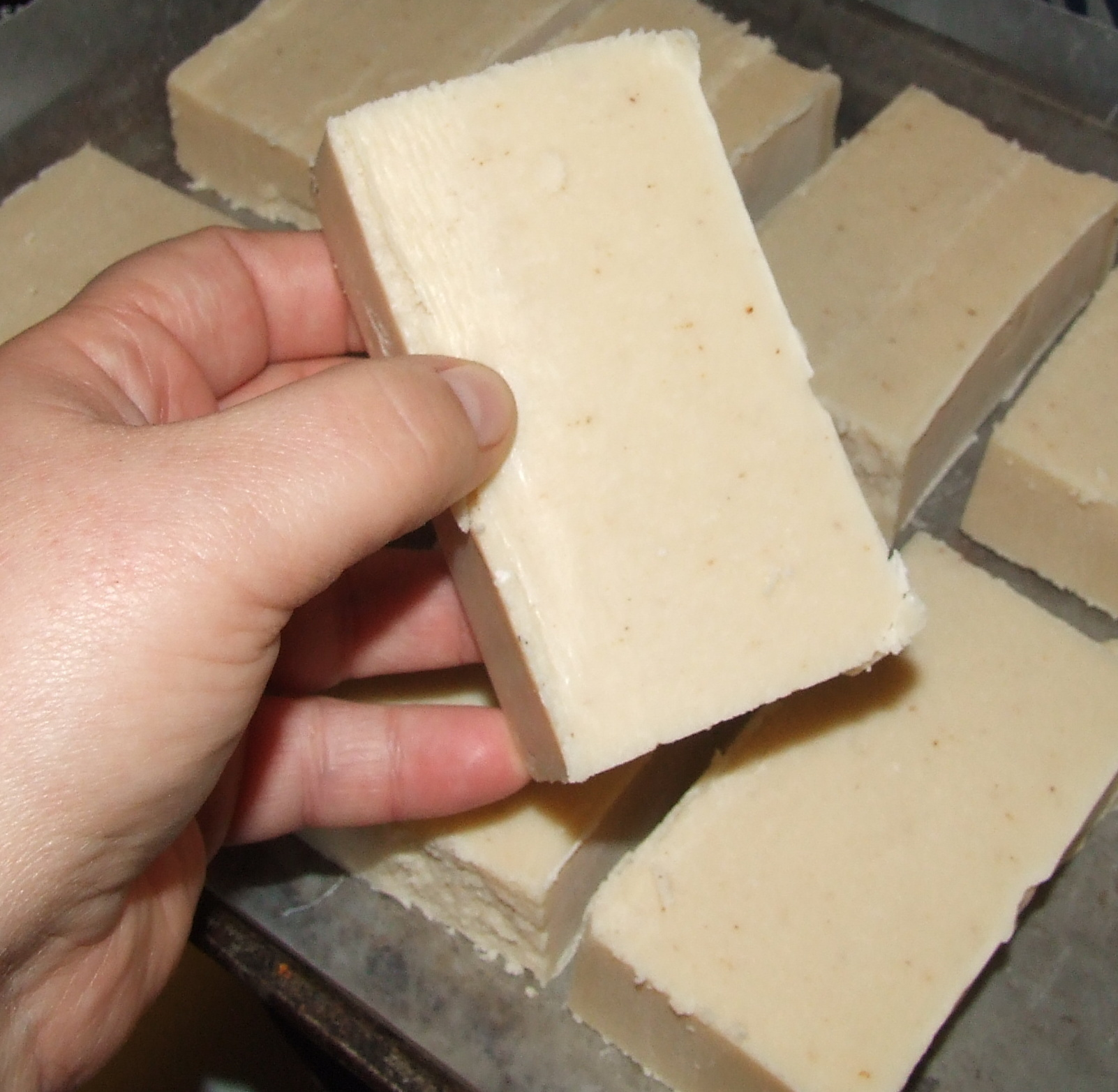 Homemade soap . . . easy peasy