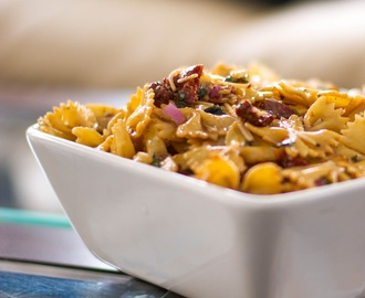 Sun Dried Tomato & Asiago Cheese Pasta Salad
