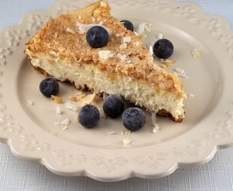 Low Carb Coconut Macaroon Cheesecake