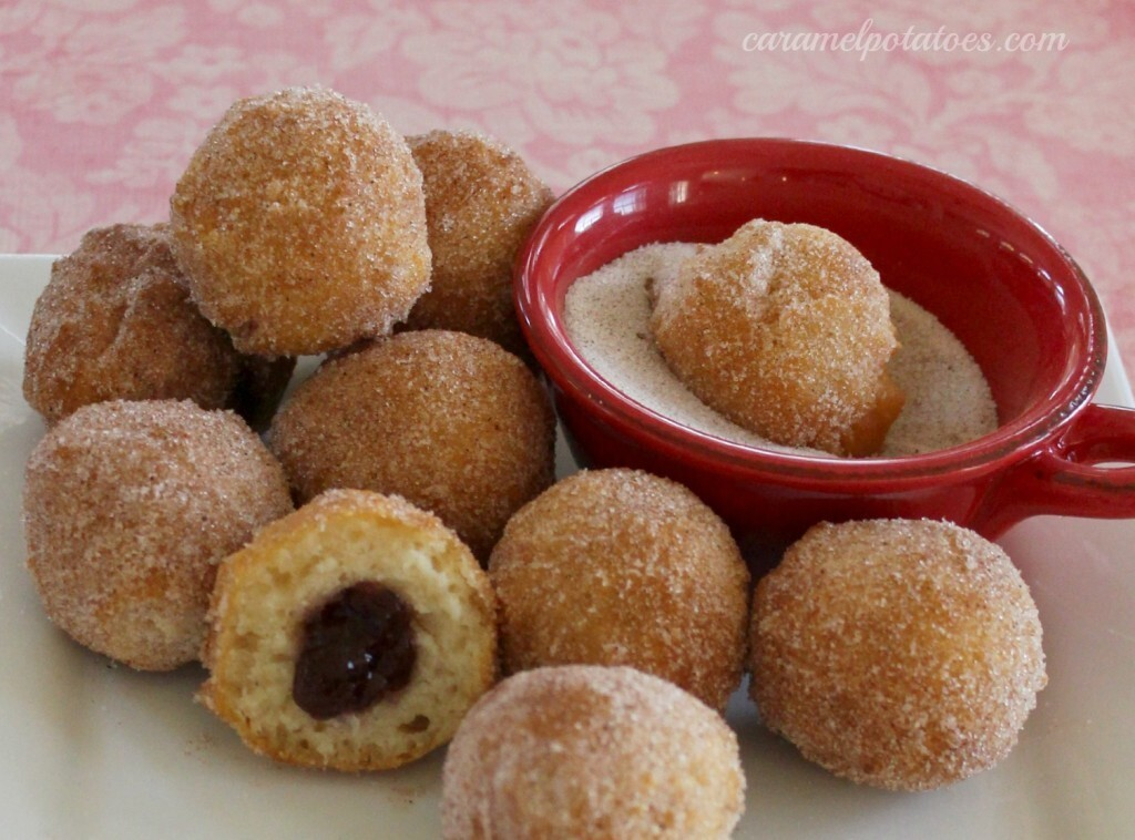 Easy Jelly Donut Holes