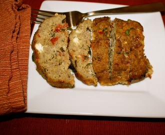 Giada's Turkey Meatloaf with Feta and Sun-dried Tomatoes
