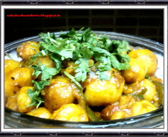 Dum Potato without Onion Garlic