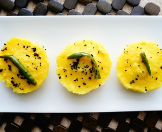 How to make Idli shape Dhokla | Khaman