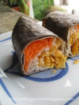 Quickie Sushi Spring Roll