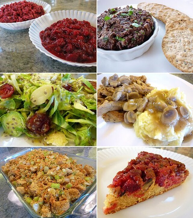 Healthy Vegan Thanksgiving Menu And Recipes For 2010