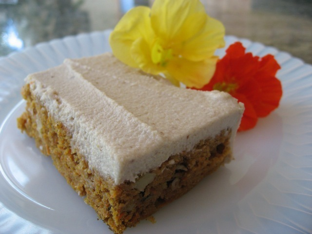 Vegan Carrot Cake with Cashew Cream Icing – Healthy AND Delicious!