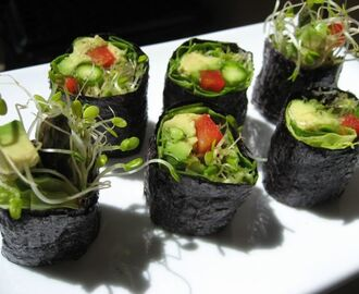 Veggie Sushi Rolls—Healthy, Easy To Create And Delicious