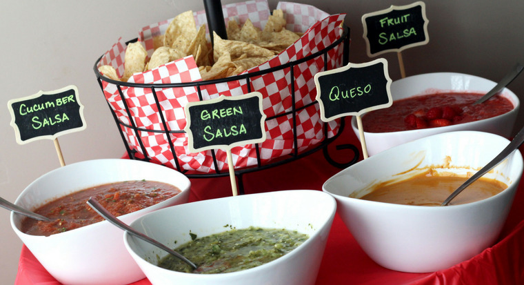 Salsa Bar – Four Salsa Recipes