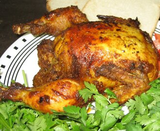 Kerala style Baked chicken
