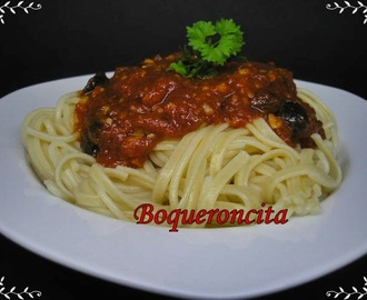 SPAGUETTIS PUTTANESCA TOUCH ADVANCE