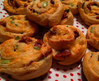 Bacon-Cheddar Ranch Pinwheels