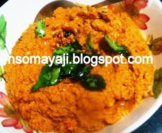 Bottle Gourd Peel - Horse Gram and Mango Chutney