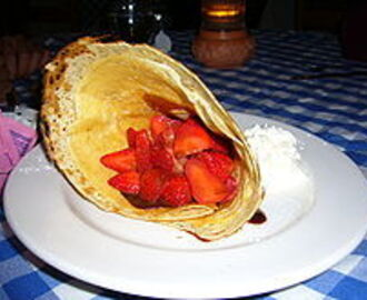 One of America's Favorites – Crêpe