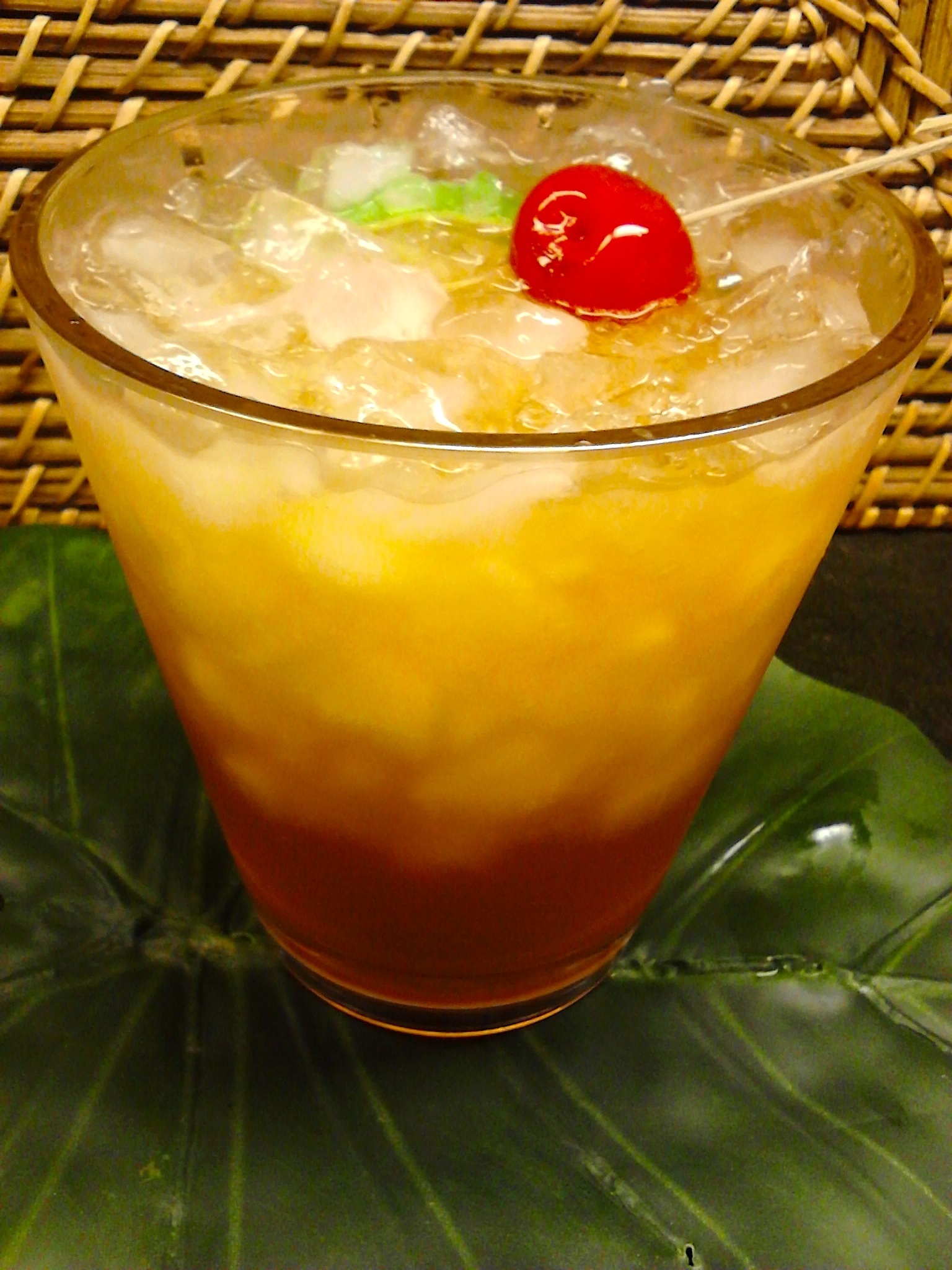 "DIY ""Mai Tai"" Cocktail"