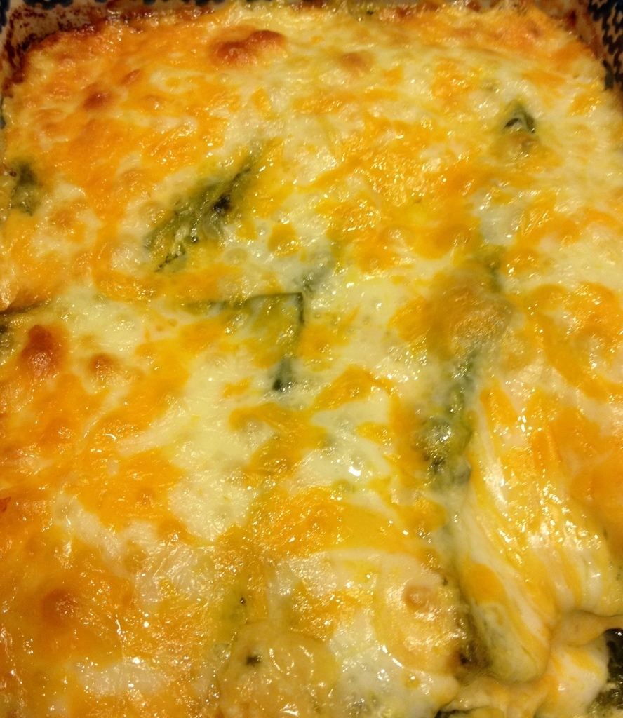 Chicken Chili Rellano Casserole