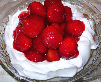 Italian Strawberry Cream Cake Recipe