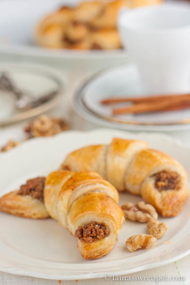 Swiss Walnut Crescents