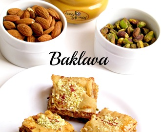 Baklava - An easy Mediteranean dessert to mark our 6 th Wedding Anniversary!!!