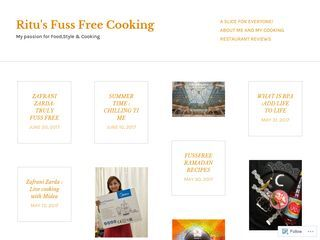 Ritu's Fuss Free Cooking