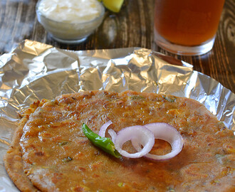 How to make Egg Paratha / Spicy Andda Parantha / Step by Step: