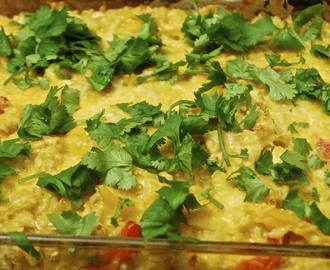 Mexican Chicken Rice Casserole