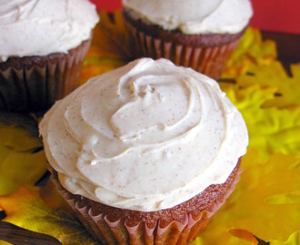 October's Cupcake Of The Month: Pumpkin Cupcakes