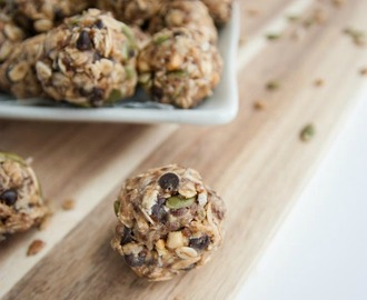 Sunflower & Pumpkin Seed No-Bake Energy Balls
