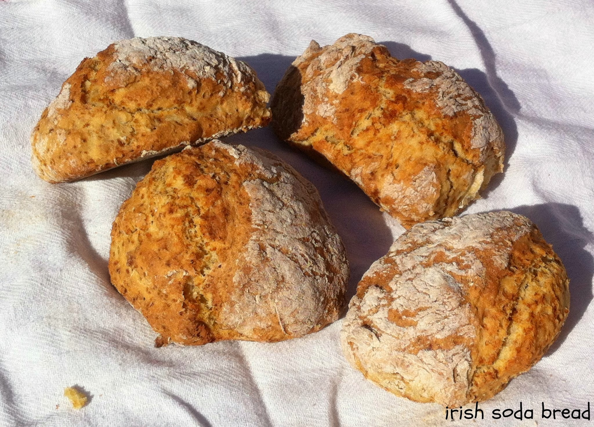 Irish soda bread ou le pain minute