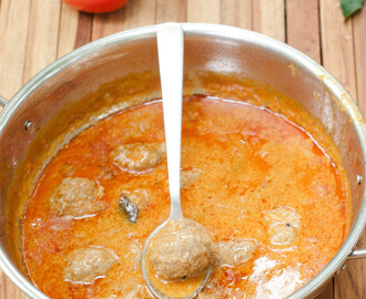 Goan Meatball Curry Recipe – How to make Indian Beef Kofta quickly & easily