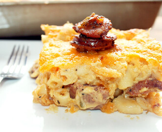 Homestyle Andouille Macaroni and Cheese