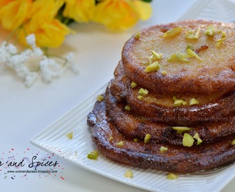 Malpua...Indian sweet pancakes