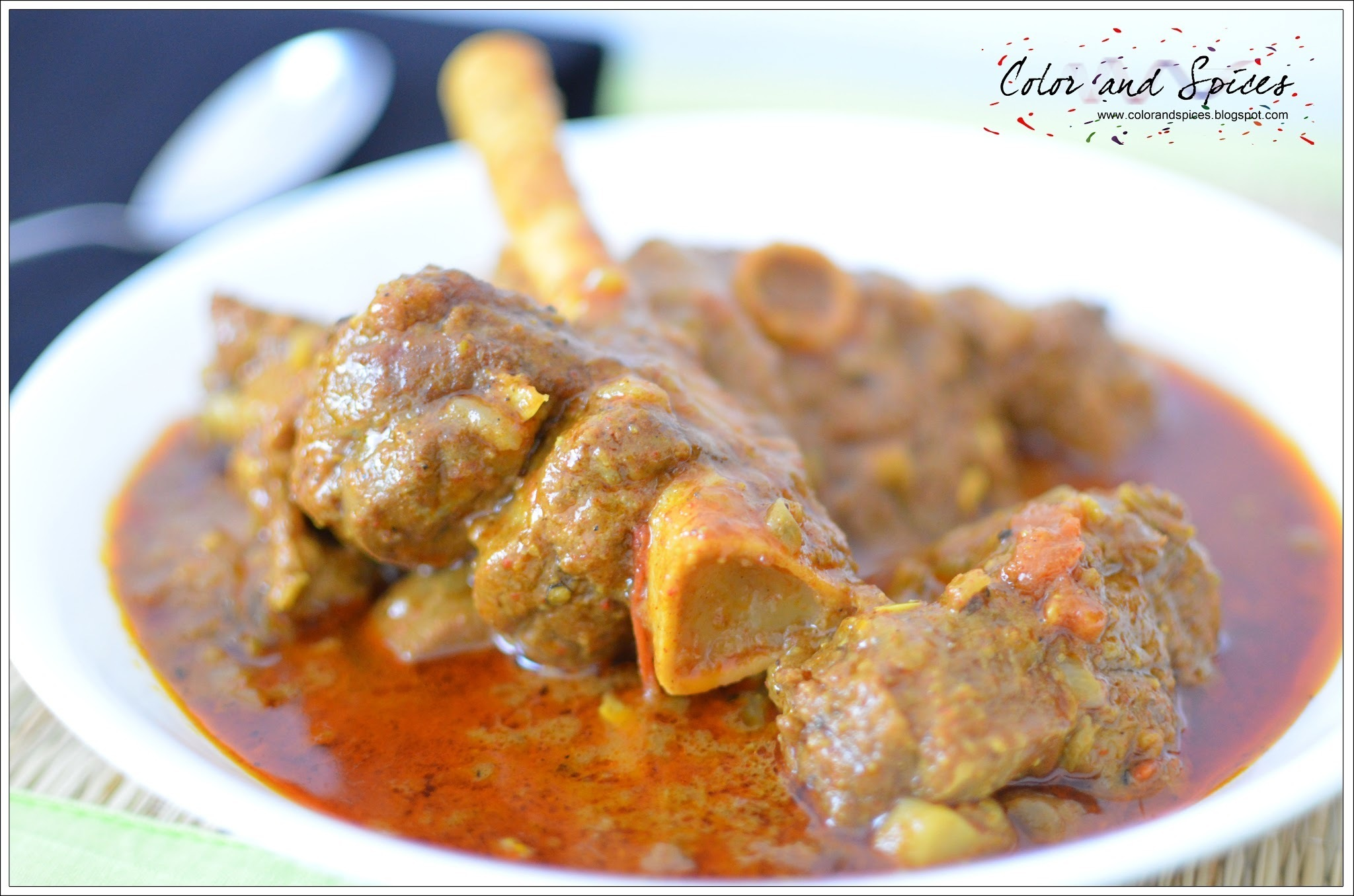 Bhuna Gosht: Braised Slow-cooked Mutton
