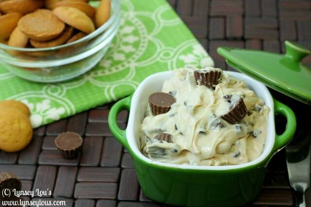 Reeses Peanut Butter Cookie Dough Dip