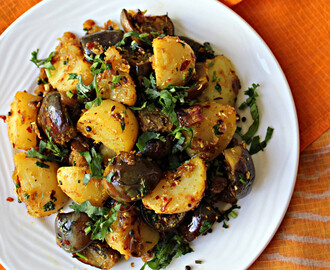 Potato And Eggplant Curry