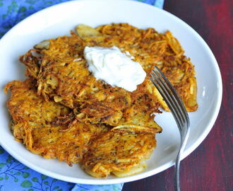 Dad's Crispy Potato Pancakes