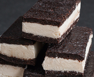 These Brownie Ice Cream Sandwiches Will Take You Back To Your Childhood