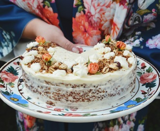 Torta od mrkve i bundeve by Filipa Sorko / Pumpkin carrot cake with vanilla cream cheese frosting by Filipa Sorko
