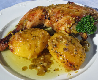 Pollo a la importancia olla GM