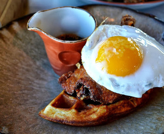 duck & waffle, liverpool street - review