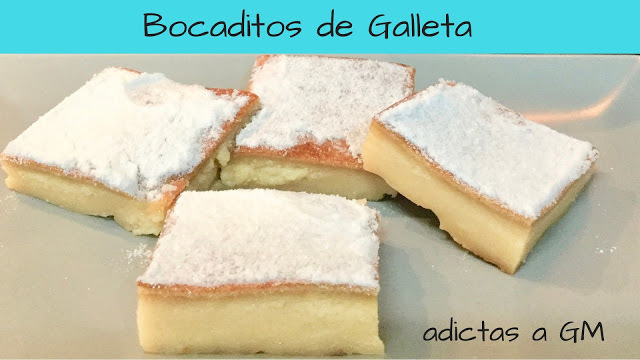 Bocaditos de Galleta María