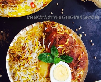 Kolkata Style Chicken Biryani Recipe / Calcutta Chicken Biryani Recipe