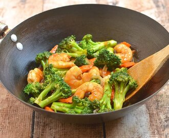 Shrimp Broccoli Stir Fry