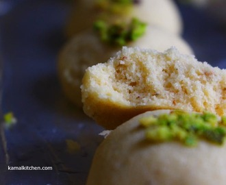 Nankhatai with Cardamom – Eggless Indian Ghee Cookies Recipe